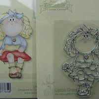 Bambinie clear stamp flower girl