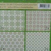 Design paper Christmas green