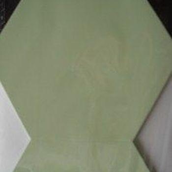 kaarten zeshoek groen