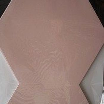 kaarten zeshoek roze