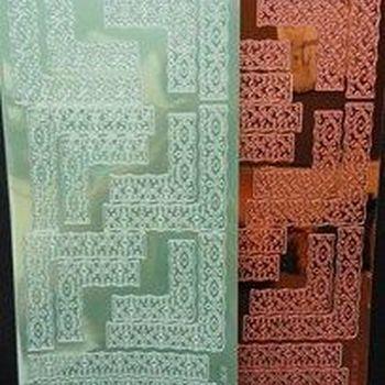 sticker kant/hoek mirror