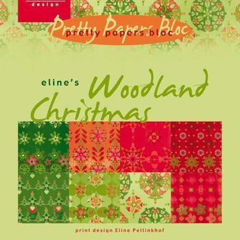 MD - Paper pad - Eline's Woodland Christmas
