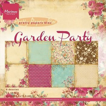MD - Paper pad - Garden party