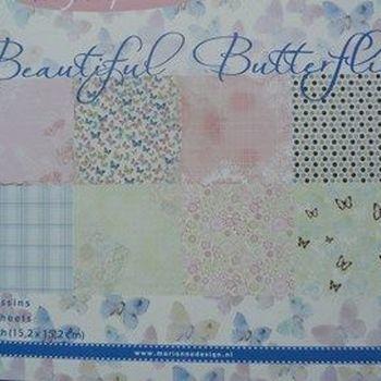 MD - Paper pad - Mooie vlinder