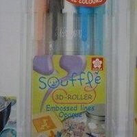 gelpennen set Soufflé pastel