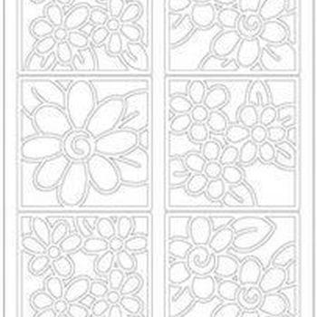 bloemen 4kant 5095/5096
