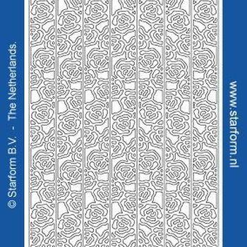 border roosjes (1260) zilver