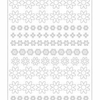 design it bloemen 1 -zilver