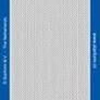 lijnen fijne kabel (1104) zwart/goud