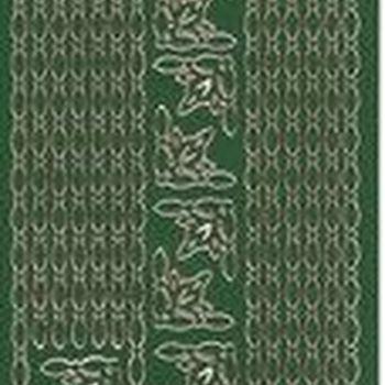 lijnen ketting - groen