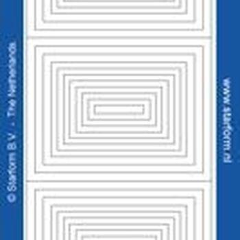lijst rechthoeken 1307/1308