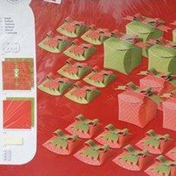 sjablonenset kerstbox