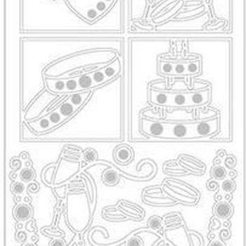 parels huwelijk 2 (3346) zilver