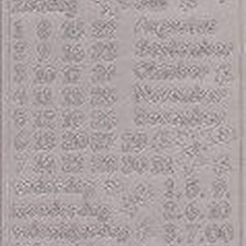 scrapbook kalender 0025/0026