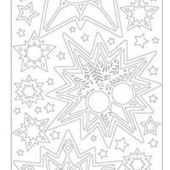 sterrenhangers - goud