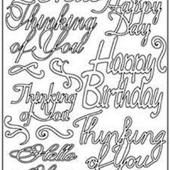 Birthday notes (2699)