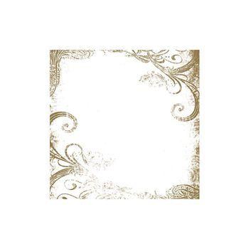 overlay ornament goud