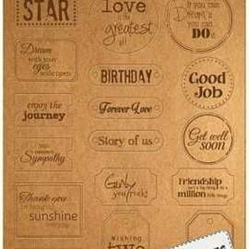 Kraftliner - Label Art - Everyday Engels