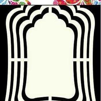 Shape Art Label - Mirror
