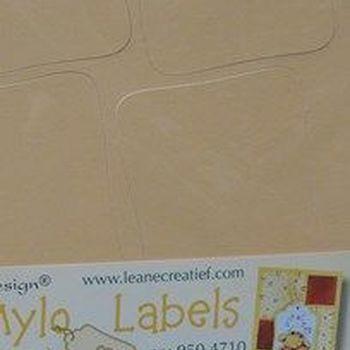 Mylo labels geel