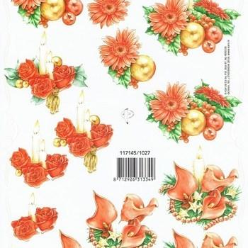 PI bloemstuk kerst