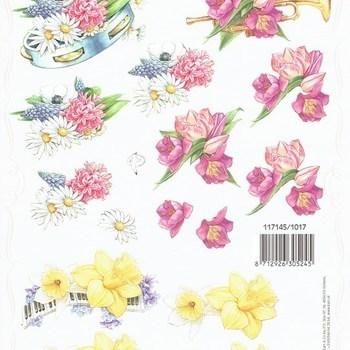 PI bloemen/muziek