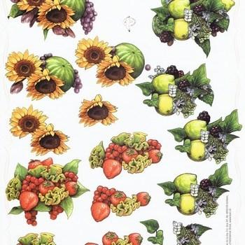 PI bloemen/fruit
