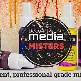 DecoArt Media Misters